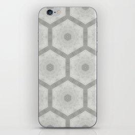 Pencil honeycomb iPhone Skin