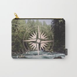 Rose Gold River Adventure Carry-All Pouch