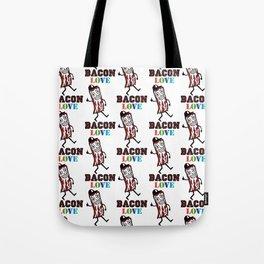 Bacon Love Tote Bag