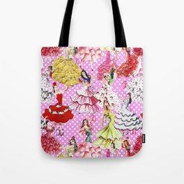 FLAMENCA POP PINK Tote Bag