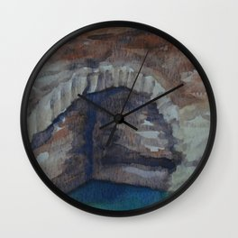 Alcazaba Cistern WC151209k-14 Wall Clock