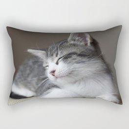 Jack - Kitten Portrait #3 (2016) Rectangular Pillow