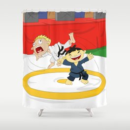 Olympic Sports: Judo Shower Curtain
