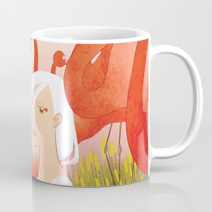 13 Flamencos Coffee Mug