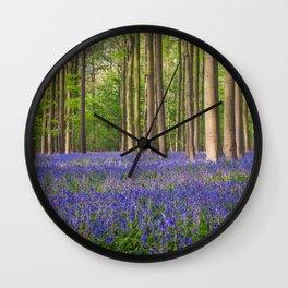 Hallerbos 3 Wall Clock