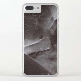 Torso with texture Clear iPhone Case