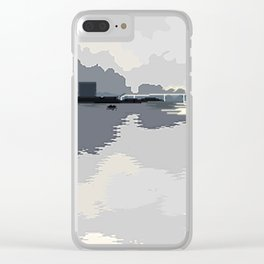 San Diego Clear iPhone Case