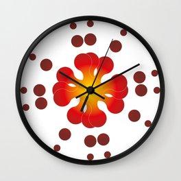Rotation Circules Wall Clock