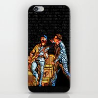 u2 iPhone & iPod Skins featuring U2 / Bono / Edge / Until The End Of The World by JR van Kampen