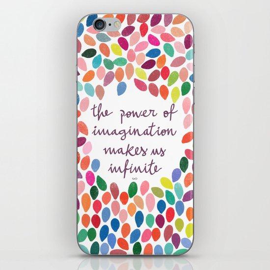 Imagination by Anna Carol & Garima Dhawan iPhone Skin