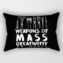 Funny Art Supply Gifts Creative Gift Artist Creation Rectangular Pillow