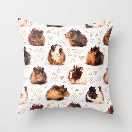 The Essential Guinea Pig Throw Pillow