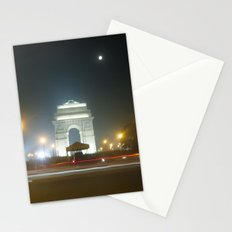 Rush Hour - India Gate Stationery Cards