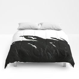 Black Raven Comforters