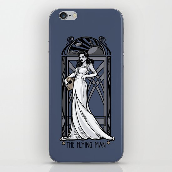 The Flying Man iPhone & iPod Skin