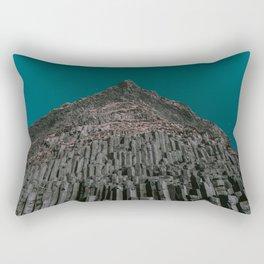 Reynisdrangar x Icelandic Sea Cliffs Rectangular Pillow
