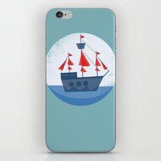 Set Sail iPhone & iPod Skin