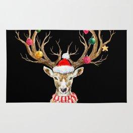 Christmas Deer 2 Rug