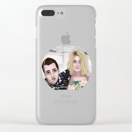 Tyler and Jenna Clear iPhone Case