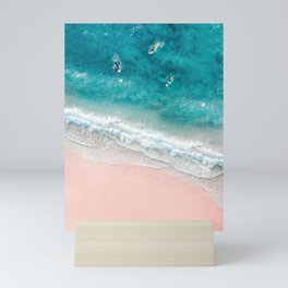 Summer Beach Mini Art Print