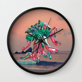 Pulpo en Mazunte Wall Clock