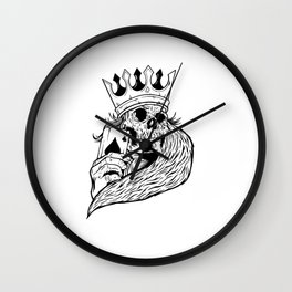 poker player gift idea cool poker t-shirt Wall Clock