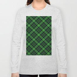 Green Scottish Fabric Long Sleeve T-shirt