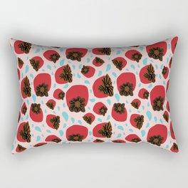 Persimmons & Rain Rectangular Pillow