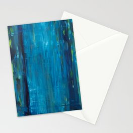 blue vertical Stationery Cards