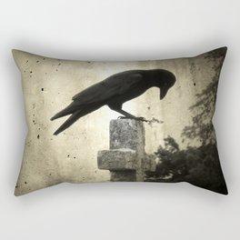 The Crow's Cross Rectangular Pillow