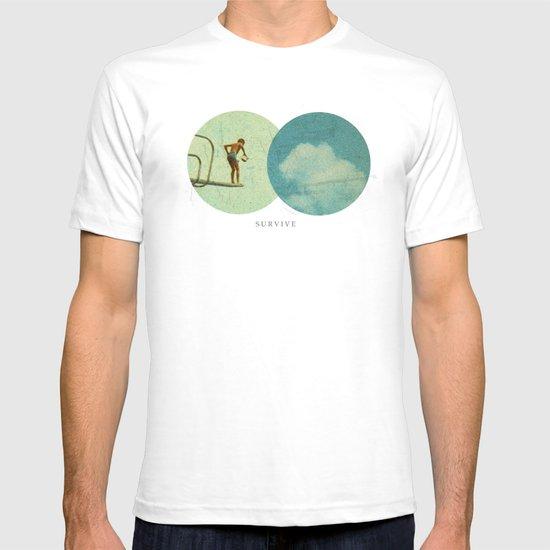 Survive   Collage T-shirt