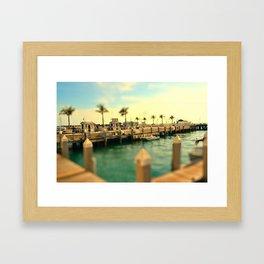 The Docks Framed Art Print
