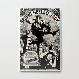 SPRING HEELED JACK Metal Print
