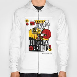 King of Four Square Hoody