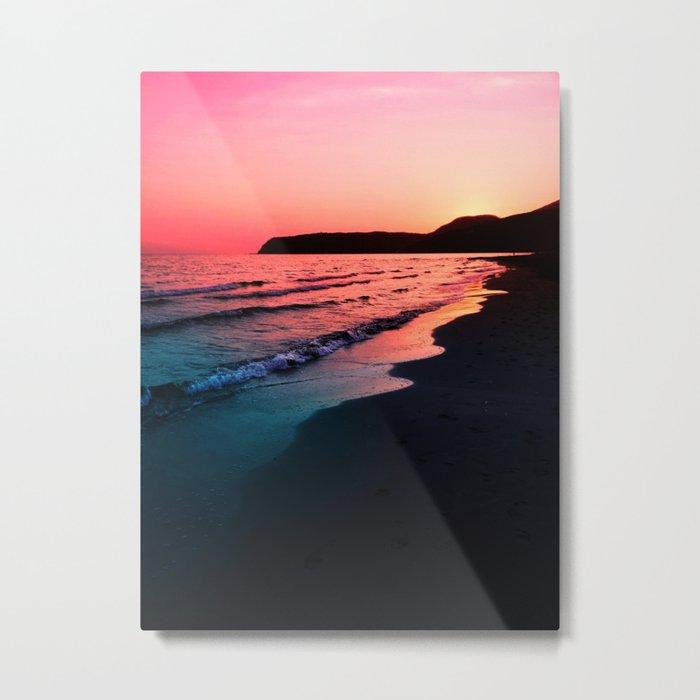 A bold Sunset Metal Print