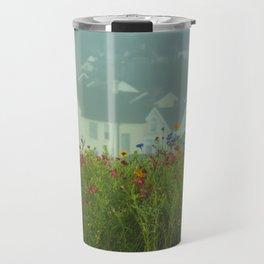 Swansea Wild Flowers Travel Mug