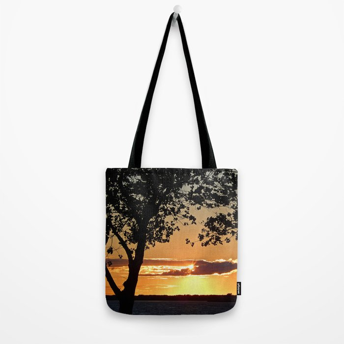 Sunset on Summerside Tote Bag