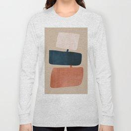 abstract minimal 52 Long Sleeve T-shirt