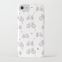 bikes iPhone & iPod Cases featuring bikes by Marcelo Badari