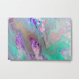 Fairy Dream Fluid Painting Metal Print