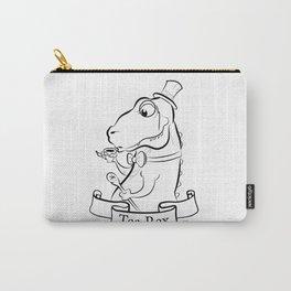 Tea Rex Carry-All Pouch