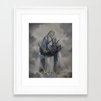 thegnarledbranch Framed Art Prints featuring All Creatures Great and Small by TheGnarledBranch