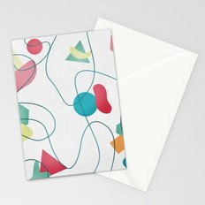 Geometric Miró Pattern Stationery Cards