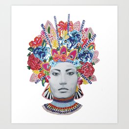 KOMA Art Print