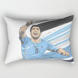 Football Stars: Luis Suarez - Uruguay  Rectangular Pillow