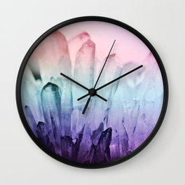 FESTIVAL RAINBOW CRYSTAL Wall Clock