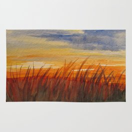 Sunset Flames Rug