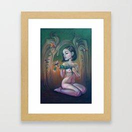 Madreselva Framed Art Print
