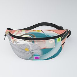 Time to watch with rabbits Fanny Pack