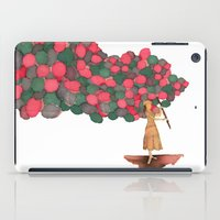 ballon iPad Cases featuring Ballon Girl by Kwelts1